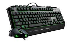 Cooler Master CM STORM CM Storm Devastator 3 gaming combo, RGB LED , anti-slip surfaces and grips Gaming,
