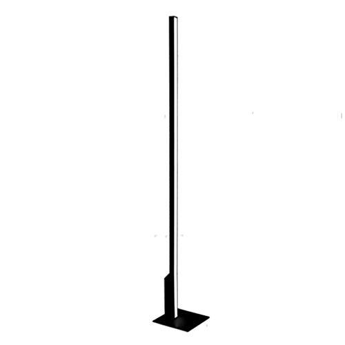 LYX® LED-Auge Schutz Boden Leselampen, Aluminium (High Light) Wohnzimmer Schlafzimmer Modern, Klavier Lichter (Farbe : Black100 cm can not dimming) (Leselampen Boden Verstellbare)