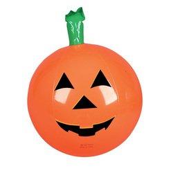 One Halloween Inflatable Pumpkin Jack O Lantern Beach Ball - 16