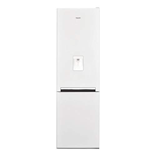 Hotpoint H8A1EWWTD Day1 189x60cm 335L 60/40 Freestanding Fridge Freezer With Non-plumb Water Dispenser - White