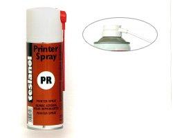 Teslanol Druckkopfreiniger Spray für verschmutzte Druckköpfe, Typenräder, Matrix- oder Kettendrucker sowie Nadeldrucker, 200ml