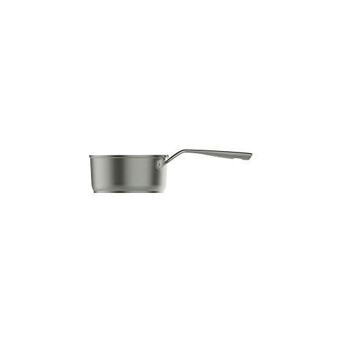 Aubecq A712018 Casserole Aluminium, Gris, 18 cm