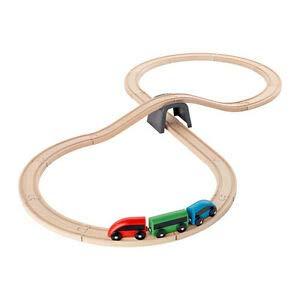 Ikea Lillabo Train en bois 20 pièces