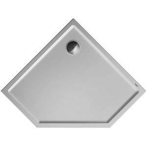 Duravit Plato de ducha Duravit STARCK Slimline pentagon 900x900x45mm blanco