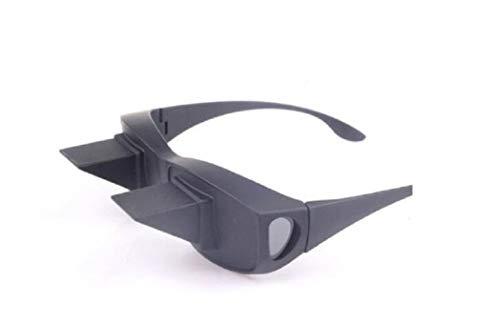 Myriad Choices Brille faul horizontale Brille Prisma Winkel Brille, Sonnenbrille Prisma-Brille horizontalen für die faul Bett den Betten Lesen und Fernsehen Brille die visuelle Ermüdung Rückzug
