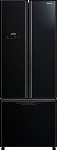 Hitachi, 600L French Bottom Freezer, Inverter Control, Glass Black,RWB600PUK9GBK,1 Year Warranty