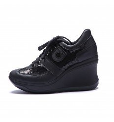 Agile by Rucoline 1800 A DIPSY MATISSE NERO, SNEAKER DONNA (40)