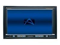 Audiovox VME 9120 TS Car Hi-Fi DVD-Moniceiver (17,8 cm (7 Zoll) LCD Touch Screen Display, FM Tuner) schwarz
