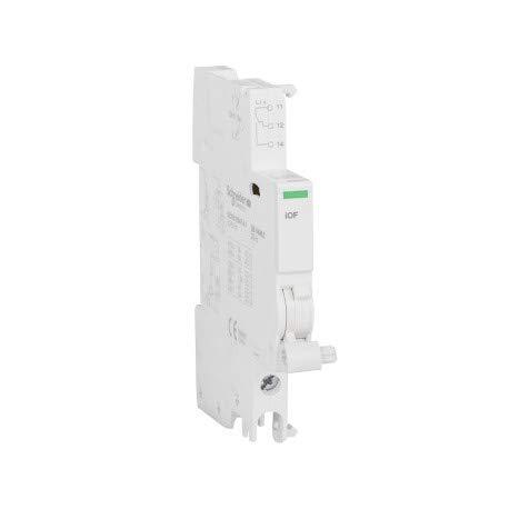 Schneider Electric A9A26924IOF Kontakt AUX, acti9, 240–415VCA, 24–130VCC, 50/60Hz, weiß