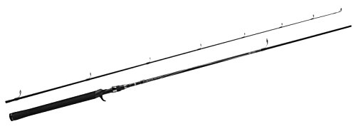 Abu Garcia Vigilante Casting Rod (2 Piece) - Black, 6.6 ft/5-20 g