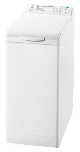 Zanussi ZWY61223KI Waschmaschine Toplader / 6 kg Trommel / Weiß / sparsamer Waschautomat mit Mengenautomatik / Bügelquick-Programm / 167,0 kWh pro Jahr