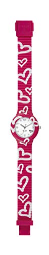 Hip Hop Watches - Orologio da Donna Hip Hop Fucsia HWU0906 - Collezione Be Loved - Cinturino in Silicone - Cassa 32mm - Impermeabile - Rosa