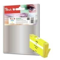 Peach PI300-548 Gelb Remanufactured Tintenpatronen Pack of 1