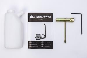 5-en-1-TIMBERPRO-Trononneuse-Debroussailleuse-Taille-haie–essence-52-cm-puissance-30-CV