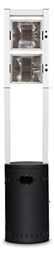 Propan-gas-wand (Enders Terrassenheizer Gas ECOLINE PURE, Gas-Heizstrahler 5640, Terrassenstrahler mit Ultra Brenner-Technologie, Transporträder, Umkippsicherung)