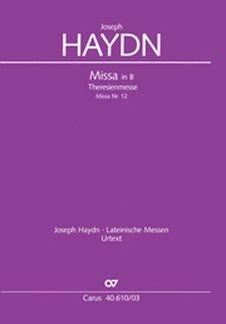 MISSA B-DUR HOB 22:12 (THERESIENMESSE) - arrangiert für Klavierauszug [Noten / Sheetmusic] Komponist: HAYDN JOSEPH