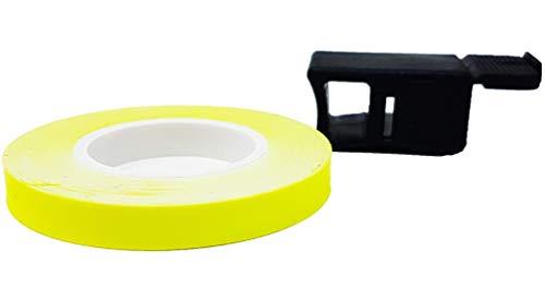 Quattroerre - Tiras adhesivas fluorescentes Wheel