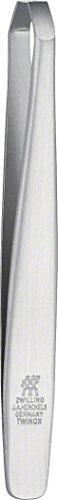 ZWILLING TWINOX Pinzette, abgewinkelt, rostfreier Edelstahl, mattiert, 90 mm