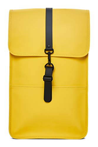 Rains Water Resistant Backpack Yellow