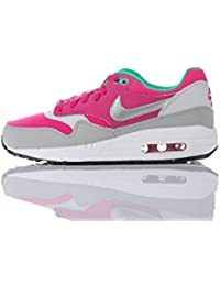 Nike - Priority Mid GS - Color: Blanco-Rojo-Rosa - Size: 38.5