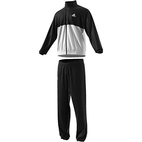 adidas Men's M CLUB TS Tracksuit, BlackWhite, 2XL