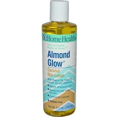 Home Health Coconut Skin Lotion, Almond Glow, 8 Ounce ( Pack Of 2 ) by Home Health -