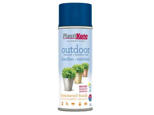 plasti-kote-18204-400ml-outdoor-hammered-spray-blue