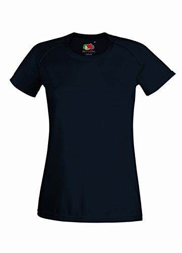 Fruit of the Loom: Lady-Fit Performance T 61-392-0, Größe:M (12);Farbe:Deep Navy