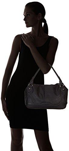Tamaris LENA Handbag, Borsa a mano donna nero (Schwarz (Black 001))