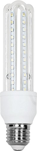 Aigostar – Confezione da 5 Lampadine LED B5 T3 3U, 9W, Attacco Grande E27, Luce Bianca 6400K [ClassediefficienzaenergeticaA+] recensioni dei consumatori