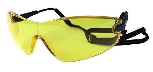Bolle Viper Brille, gelb, 1