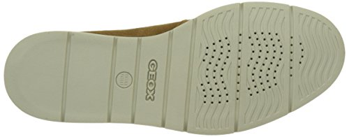 Geox U Uvet B, Scarpe Stringate Uomo Marrone (Desertc5007)