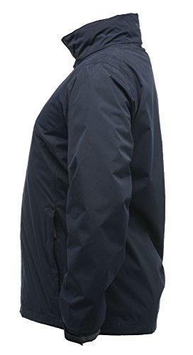 Admore veste de coquille imperméable pour femme Classique Rouge / Noir