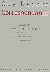 Correspondance: Volume
