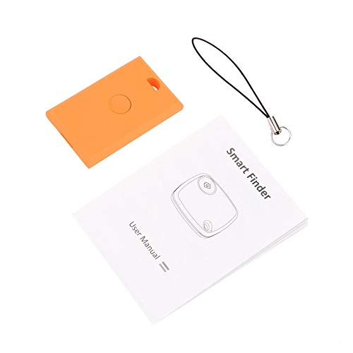 Detector Inteligente Localizador Rastreador Alarma Inalámbrico Anti-perdida Sensor Autorretrato Remoto para niños Monedero Llaves Teléfono - Naranja