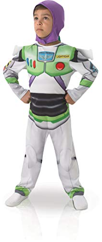Rubie 's Offizielle Buzz Lightyear Jungen Fancy Kleid Disney Toy Story Kinder Kostüm Outfit (Disney Buzz Lightyear Kostüm)
