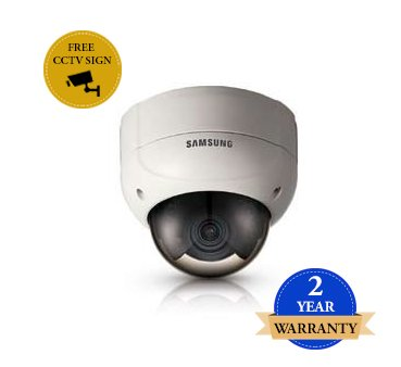 SS101 - SAMSUNG SCV-2080RP 600TVL IR LED VANDALISMUS CCTV-DOME-KAMERA 12VDC Super High Resolution Kamera