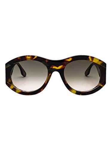 Victoria Beckham Damen Vbs151c02tortoise Braun Acetat Sonnenbrille