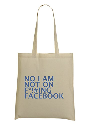 no-im-not-on-facebook-funny-grumpy-haters-tote-bag