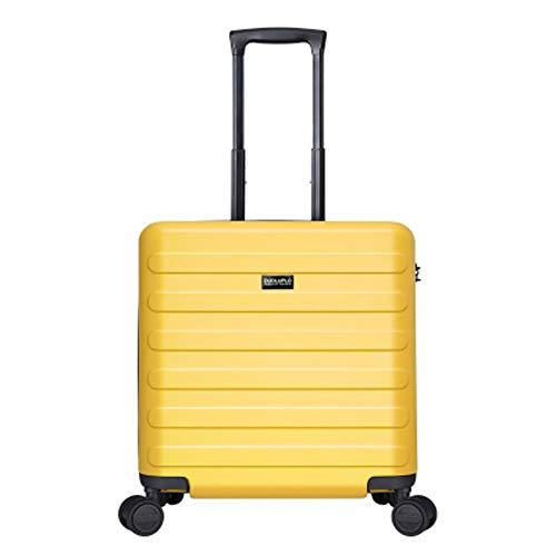 HWYP Trolley Koffer 18 Zoll Caster Mini Koffer Reise für Männer und Frauen Super Light Boarding 5 Größe