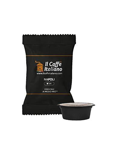 FRHOME - Lavazza a Modo Mio 100 Càpsulas compatibles - Il Caffè Italiano - Mezcla Napoli Intensidad 12