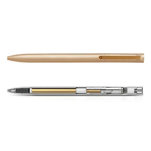 Xiaomi Mijia retráctil bolígrafos de metal de 0,5 mm pluma duradera de firma...
