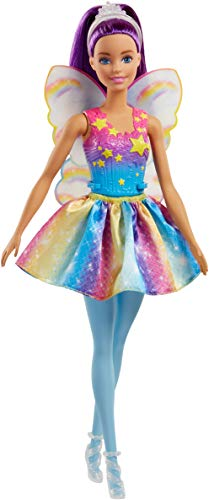 Barbie- fatina della baia dell'arcobaleno dal mondo di dreamtopia, fjc85