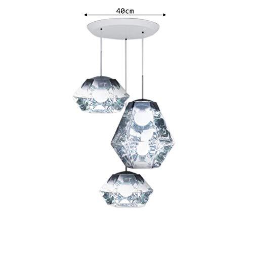 Pendelleuchten Glaskugel Pendelleuchte Wohnzimmerlampe Britische Designer Harz Spiegel Moderne Kronleuchter Beleuchtung