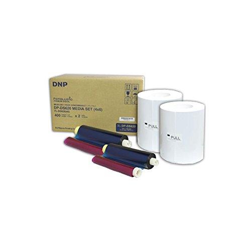 Media Kit (DNP 212624 Drucker-Kit 10 x 15 cm, 2 x 400 Blatt)