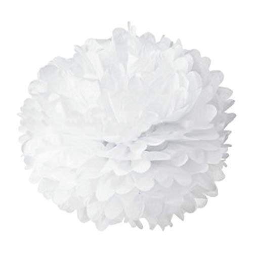 s Tischpapier Pom -poms, Blumenball Hochzeitsfeier Outdoor Dekoration Premium Tissue Paper Pom Pom Flowers Craft Kit ()