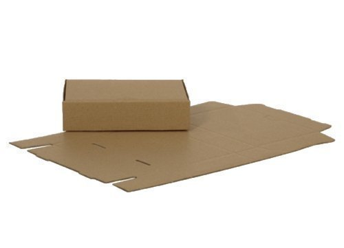 100 CASSETTA LETTERE MAXI 180 x 130 x 45 mm imballaggio spedizione schachstel cartone ondulato CARTONE ONDULATO LETTERA MAXI
