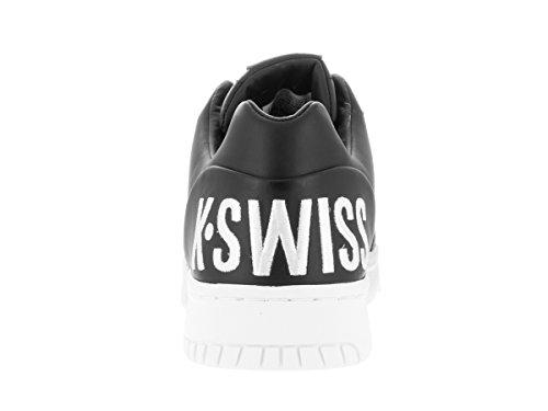 K-SWISS SHOE GSTAAD BIG LOGO RBN RED/WHITE Q1 Noir/Blanc