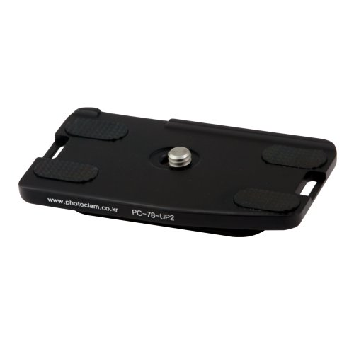 Foto, pc-78-up2Montageplatte für Canon 10D/20D/30D Body (schwarz) Foba Quick Release