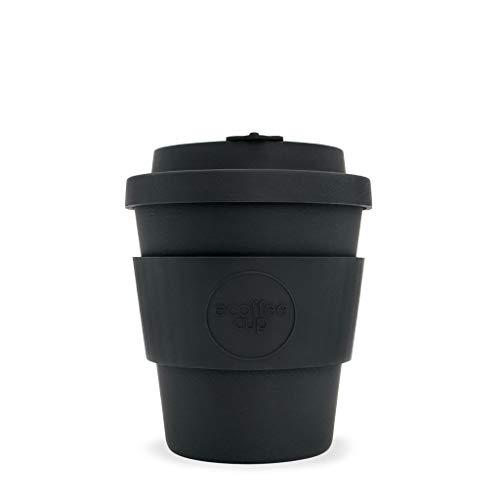 Ecoffee Cup Kerr et Napier 250 ml Noir | Tasse à café réutilisable en bambou